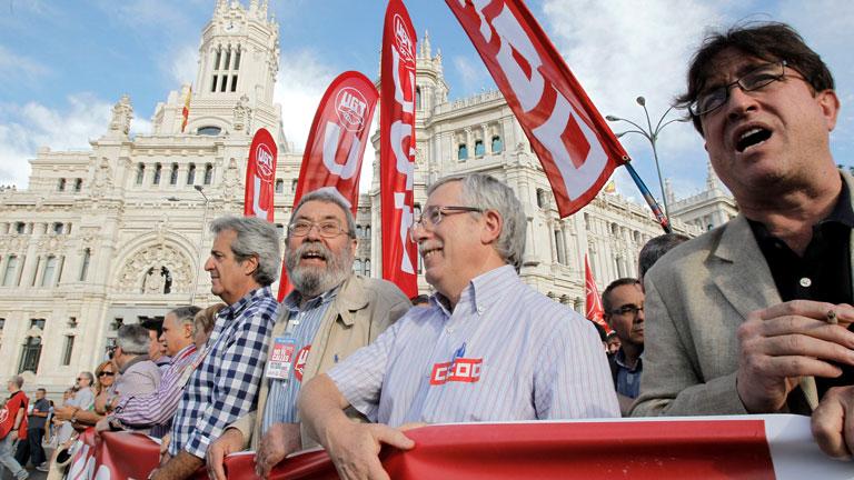 Protesta sindical contra los recortes y a favor de otras políticas