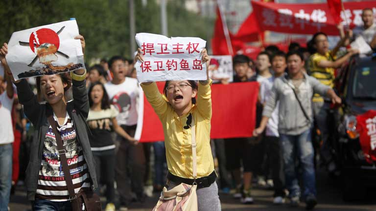 Protestas antijaponesas en China