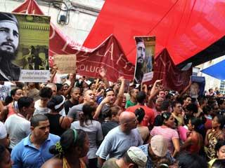 Ver vídeo  'Protestas en Cuba por los derechos humanos'