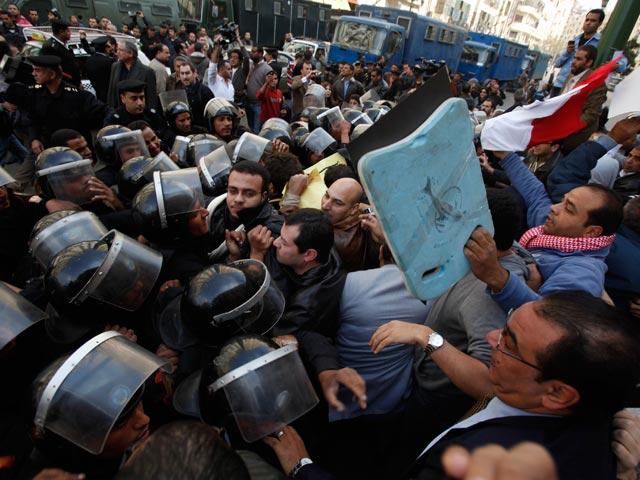 Protestas en Egipto contra el régimen de Mubarak
