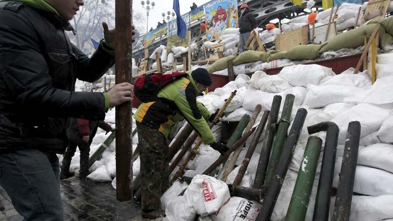 Crece la protesta contra el gobierno en Ucrania