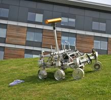 Prototipo del 'rover' ExoMars.