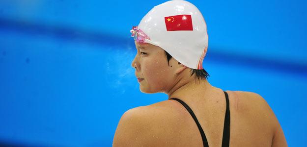 La china Ye Shiwen, tras competir en la jornada del pasado lunes en 200 estilos.