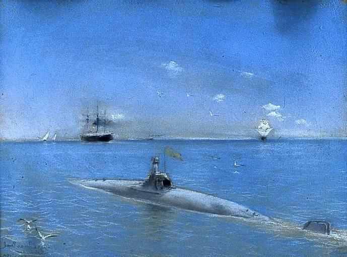 Pruebas del submarino Peral
