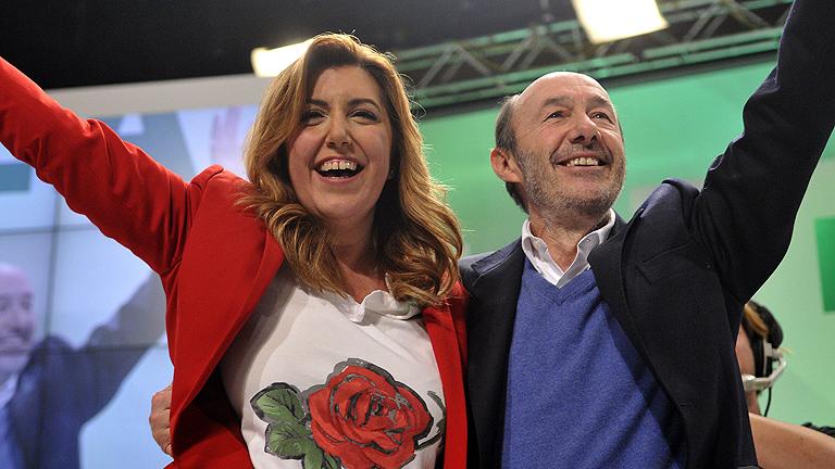 Rubalcaba asegura que el PSOE sale de la cita andaluza más fuerte y unido
