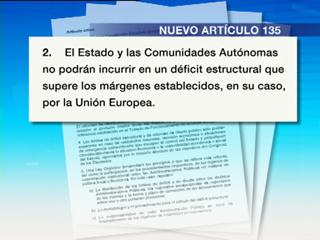 Ver vídeo  'PSOE y PP registran en el Congreso el acuerdo de reforma de la Constitución'