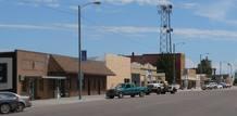 El pueblo de Imperial, en Nebraska
