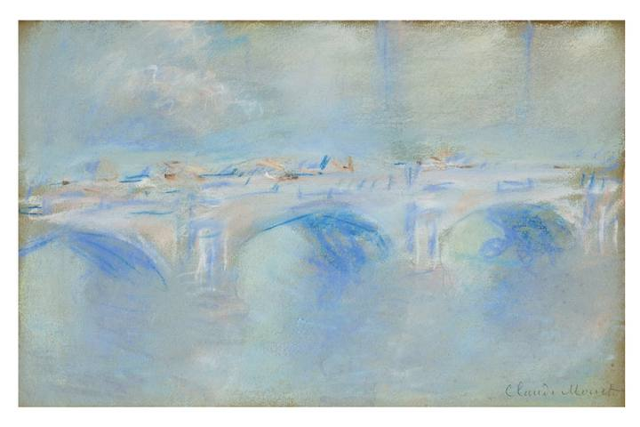 'El Puente de Waterloo, Londres', de Claude Monet.