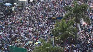 Ver vídeo 'Pulso en las calles venezolanas entre el Gobierno y la oposición'