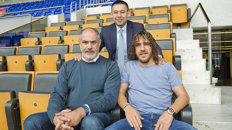 Puyol ficha por el equipo técnico del Barça