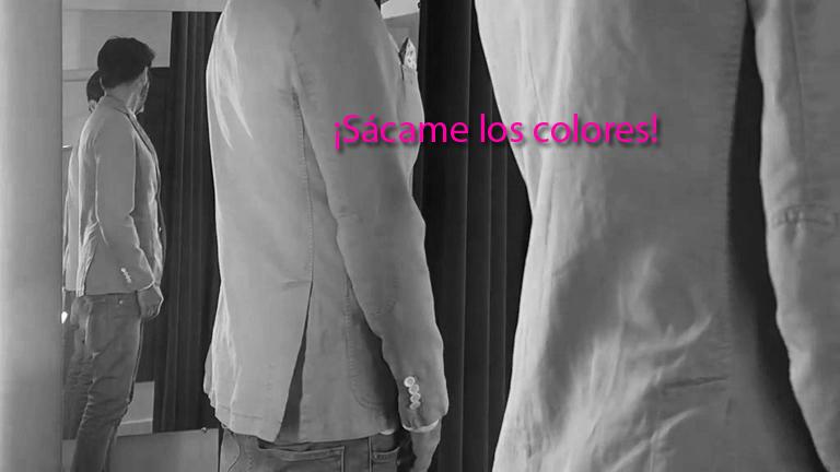 Me quieres sacar los colores