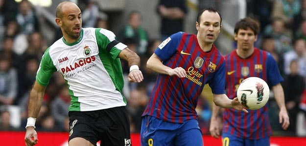 RACING DE SANTANDER - FC BARCELONA