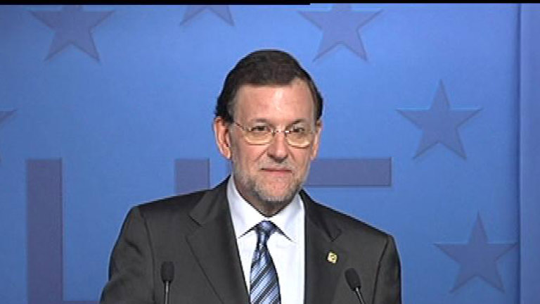 Rajoy afirma que no se plantea pedir a Europa la compra de deuda espa&ntilde;ola