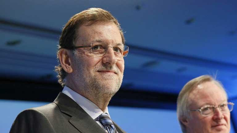 Rajoy anuncia buenas cifras de paro en Mayo