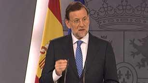 Ver vídeo  'Rajoy aún no ha tomado una decisión sobre la petición de rescate'
