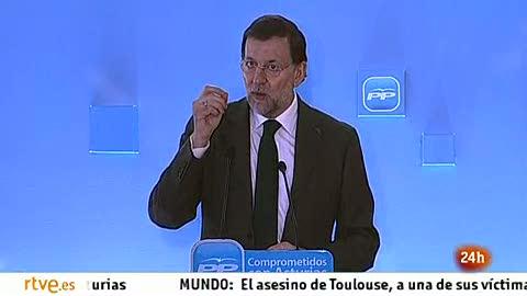 """Ver vídeo  'Rajoy avanza una ley """"para que la gente sepa en qué se gasta su dinero"""" la administración'"""