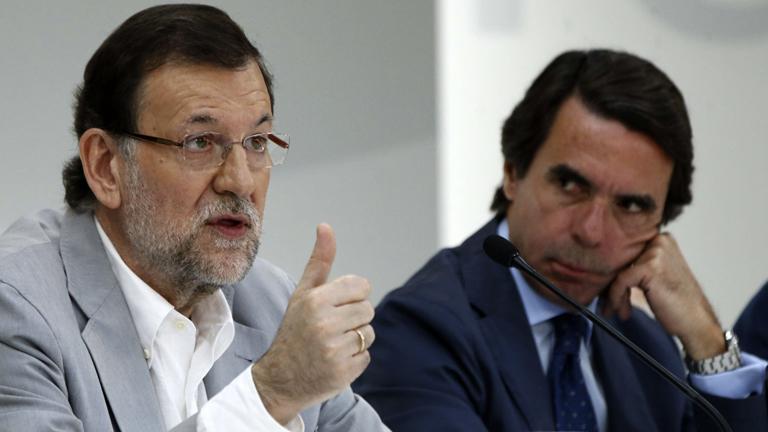 Mariano Rajoy ante Aznar: no es justo y no conduce a nada hacer balances ahora