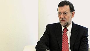 """Ver vídeo  'Rajoy: """"Bajaremos el déficit todo lo que podamos""""'"""