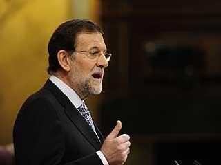 Ver vídeo  'Rajoy confirma en el debate de investidura que actualizará las pensiones desde el 1 de enero de 2012'