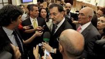 Rajoy en el Congreso, en la primera sesión de control tras solicitar el rescate para la banca