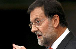 Ver v?deo  'Rajoy critica a Zapatero por abandonar el Congreso para contestar a Sarkozy'