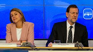 Ver vídeo  'Rajoy defiende ante la dirección del PP las medidas de sus 100 primeros días'