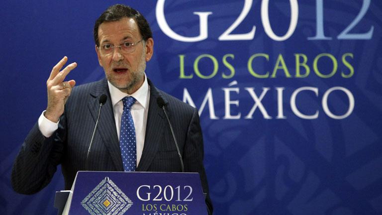 Rajoy desmiente presiones para solicitar el rescate de la banca