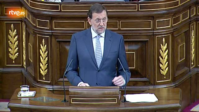 Rajoy dice que en esta situaci&oacute;n &quot;es imposible crear empleo&quot;