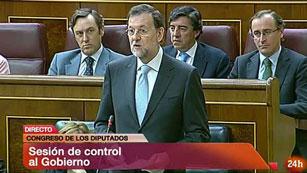 """Ver vídeo  'Rajoy dice que """"hace lo que hace para salir del pozo""""'"""