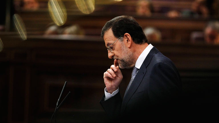 Rajoy: &quot;Dije que bajar&iacute;a impuestos, y los estoy subiendo&quot;