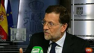 """Ver vídeo  'Rajoy, dispuesto a inyectar dinero público a los bancos en una """"situación límite""""'"""
