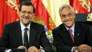 Ver vídeo  'Rajoy elogia el crecimiento económico de Chile en su visita oficial al país'