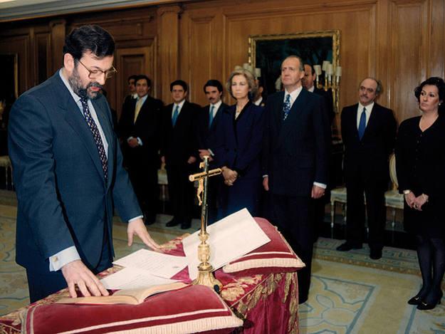 Rajoy fue nombrado ministro de Administraciones Públicas en 1996
