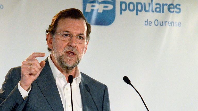 Rajoy ha dicho en Galicia que va a abrir la senda de la recuperacin econmica