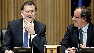 """Ver vídeo  'Rajoy: """"Hemos tomado el camino de las grandes naciones en las grandes encrucijadas""""'"""