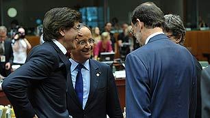 Ver vídeo  'Rajoy: lo importante es que España pueda financiarse'