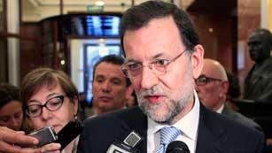 Ver vídeo  'Rajoy insta a la Unión Europea por la defensa del euro y la solvencia de las d