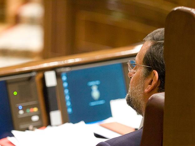 Rajoy lleva en la oposicion tres años y medio