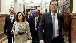 """Ver vídeo  'Rajoy: """"Las medidas hacen daño a mucha gente pero no hay otra alternativa""""'"""