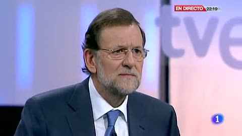 """Ver vídeo  'Rajoy no se manifestaría contra los recortes a los funcionarios """"si son por los motivos que son""""'"""