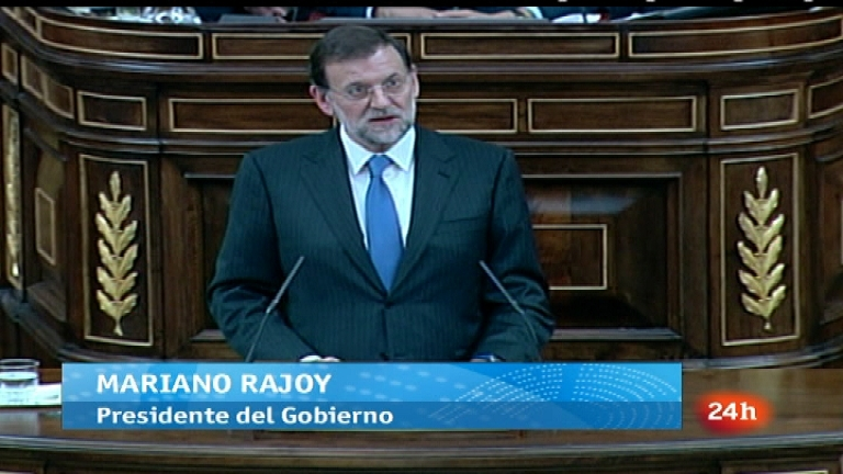 Parlamento - Rajoy presidente - 24/12/11