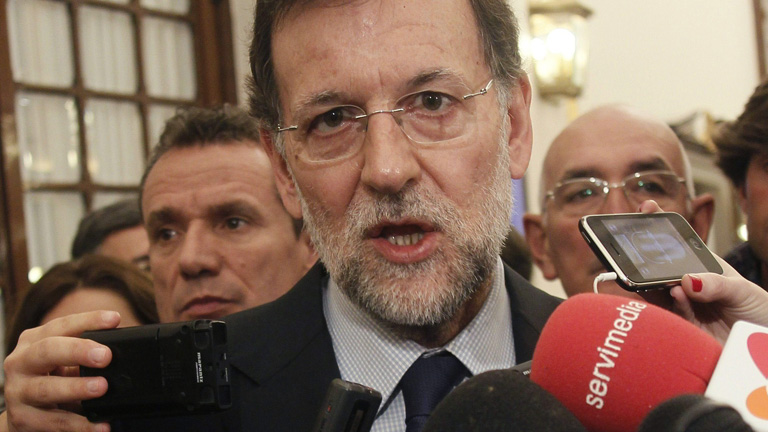 Rajoy: los presupuestos son &quot;dif&iacute;ciles, duros y no gustan&quot;, pero llevar&aacute;n a la recuperaci&oacute;n