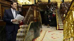 """Ver vídeo  'Rajoy reconoce que los recortes suponen un gran sacrificio, pero señala que """"no queda más remedio""""'"""