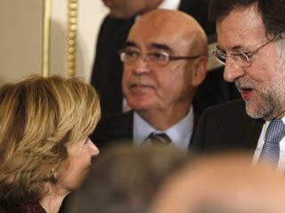 Ver vídeo  'Rajoy se entrevista en Marsella con Geithner, Merkel y Sarkozy'