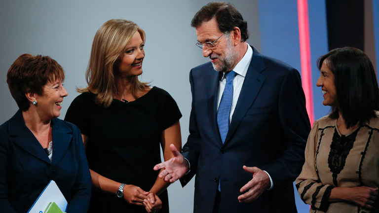 """Rajoy: """"Si hay algo que no tocaré serán las pensiones"""""""