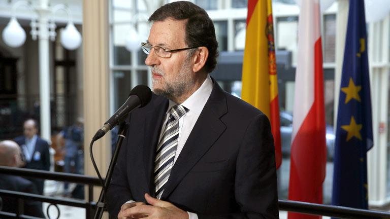 """Rajoy: """"Si Mas quiere obligarnos a hacer lo que él dice, eso va a ser muy complicado"""""""