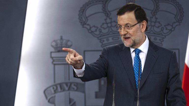 Rajoy asegura que el Estado de derecho no se somete a chantaje en el caso Bárcenas