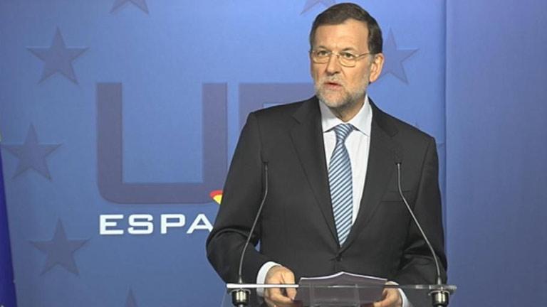 """Rajoy critica que los sindicatos convoquen """"la segunda huelga general a un gobierno que no lleva un año"""""""