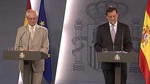 Ver vídeo  'Rajoy tiende la mano a Cataluña para el rescate'
