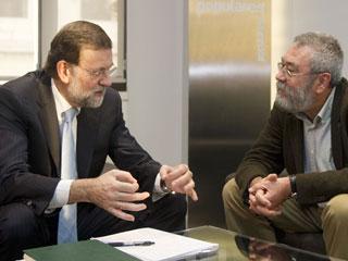 Ver vídeo  'Rajoy urge a los agentes sociales a llegar a un acuerdo sobre contratación y convenios'